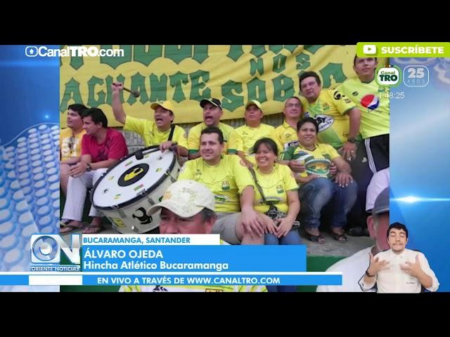 Hinchas de Bucaramanga quieren regresar muy pronto al estadio