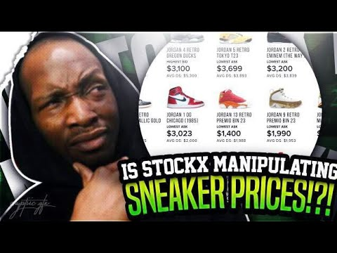 IS STOCKX MANIPULATING THE SNEAKER MARKET???