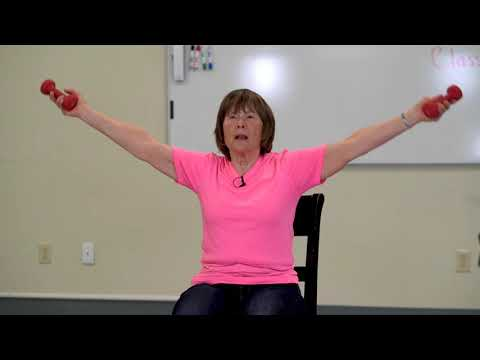 Seniors Chair Exercise with Sharon