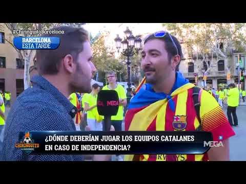 ¿DÓNDE DEBERÍAN JUGAR los equipos catalanes en caso de INDEPENDENCIA?