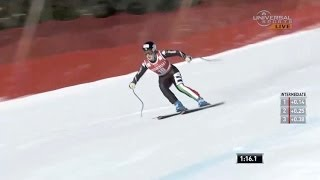 Fanchini 3rd in Downhill at Lake Louise - Universal Sports