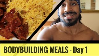 Bodybuilding meals day 1 - sinhala
