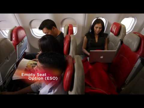 AirAsia X Onboard Upgrade Travel Option(UTo) and Empty Seat Option(ESo)