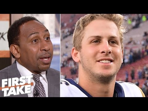 Stephen A: Rams need to host playoff games to win in postseason | First Take