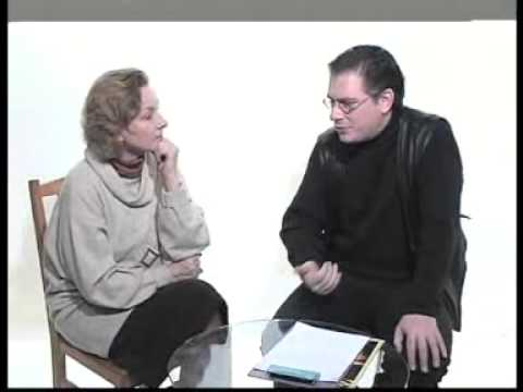 Лариса Малеванная у Алексея Лушникова, 1 фев. 2001