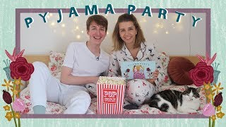 PYJAMA PARTY PODCAST 💟 Afl. 3: Rolverdelingen in relaties // met boyfriend Nick
