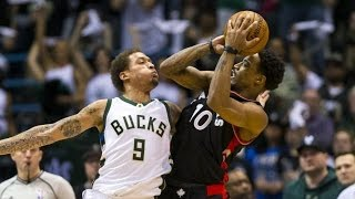 DeMar DeRozan Bounces Back From Terrible Game 33 Pts! Raptors Bucks Game 4