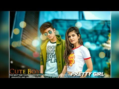 Full Download] Boy With Girl Best Couple Attitude Photo