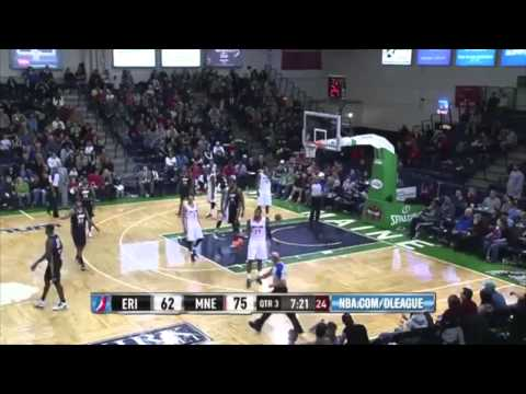 Ricky Davis vs. Red Claws: 22 points, 9 rebounds, 6 assists