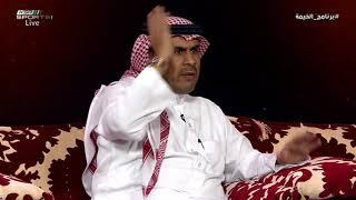 عبدالعزيز السويد - اللاعب مسوي نفسه خبير لياقي و فني وإداري في النادي #برنامج_الخيمة