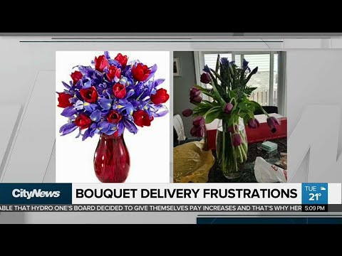 Complaints About Online Bouquet Delivery Service