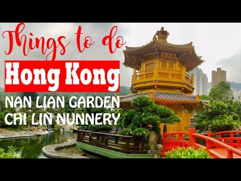 Spot Travel Gratis di Hong Kong- Golden Temple Nan Lian Gard