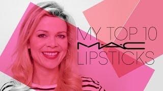 My top 10 MAC lipsticks Thumbnail