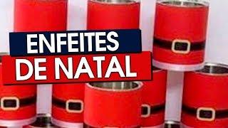 50 ENFEITES DE NATAL FÁCEIS DE FAZER