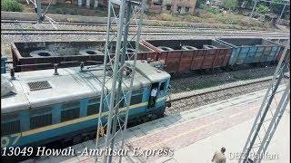 13049 Howrah - Amritsar Express  !!हावड़ा - अमृतसर एक्सप्रेस Departing from SLN