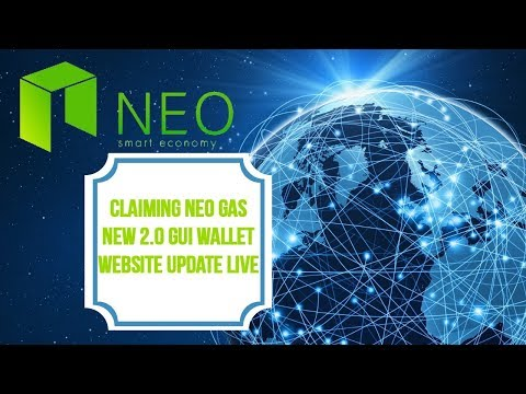 🙌🏻 Claiming NEO Gas / Antcoins | New 2.0 GUI Wallet | Website Update LIVE! 👌