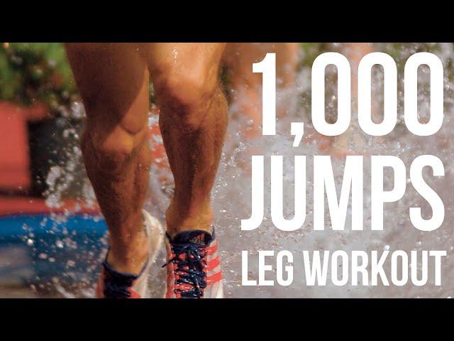 1,000 Jumps Workout: Leg Day