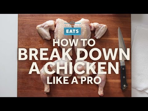How to Break Down a Chicken Like a Pro