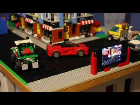 How to make a basic Lego stop motion video with your iPhone - YouTube