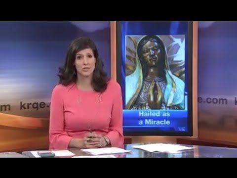 Weeping Mother Mary! A Miracle Again on May 21, 2018 Our Lady of Guadalupe weeping Virgin Mary