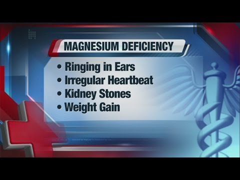 Many Conditions Are Linked To Magnesium Deficiency