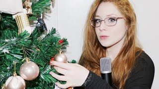 ASMR Meet My 2020 Holiday Tree LOFI QUICK SOUNDS 2020 | Lillee Jean