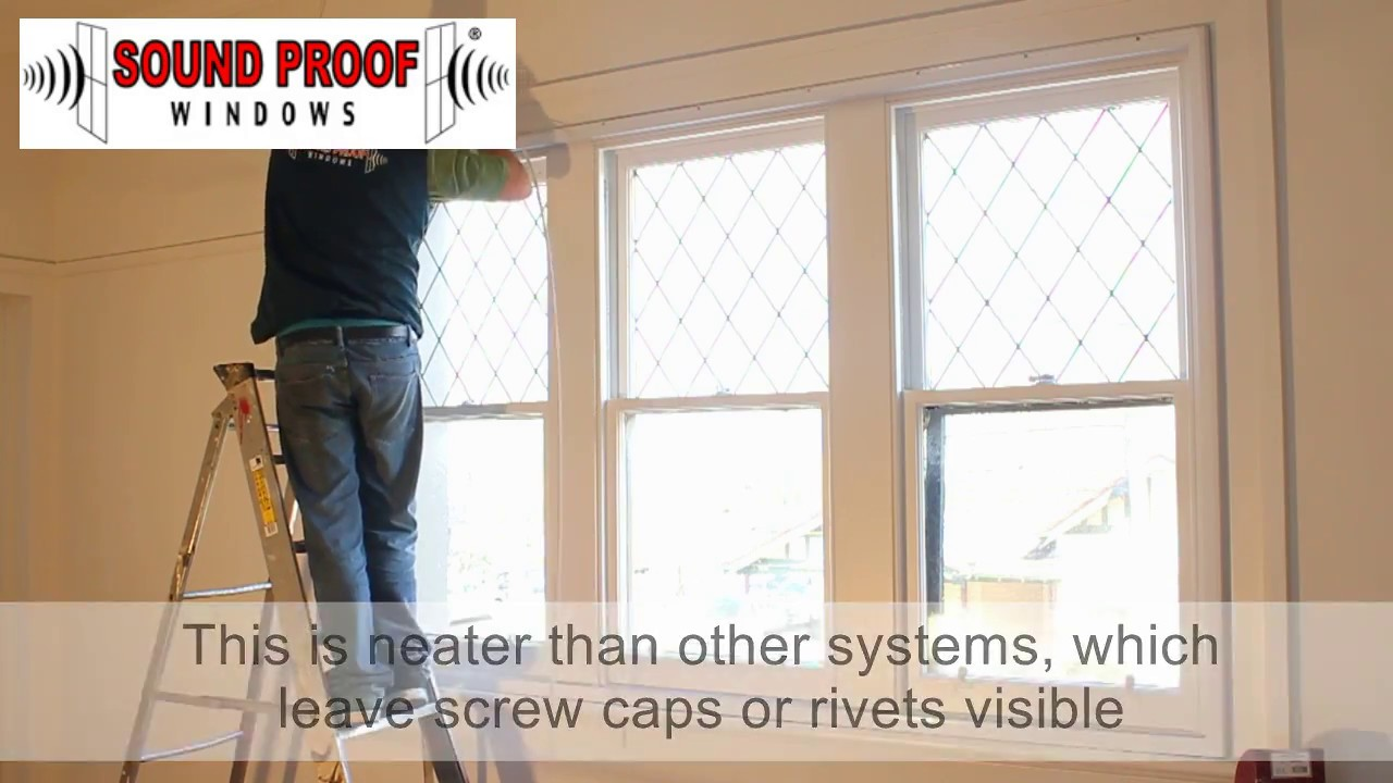 Soundproof windows - Sound Proof Windows Install Demo 3 Horizontal Slider Windows