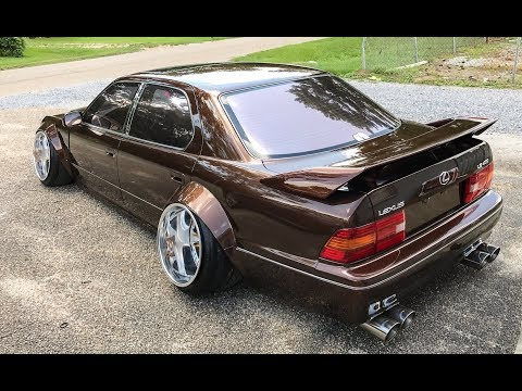 'VIP' Wide Body 1995 Lexus LS400 - One Take