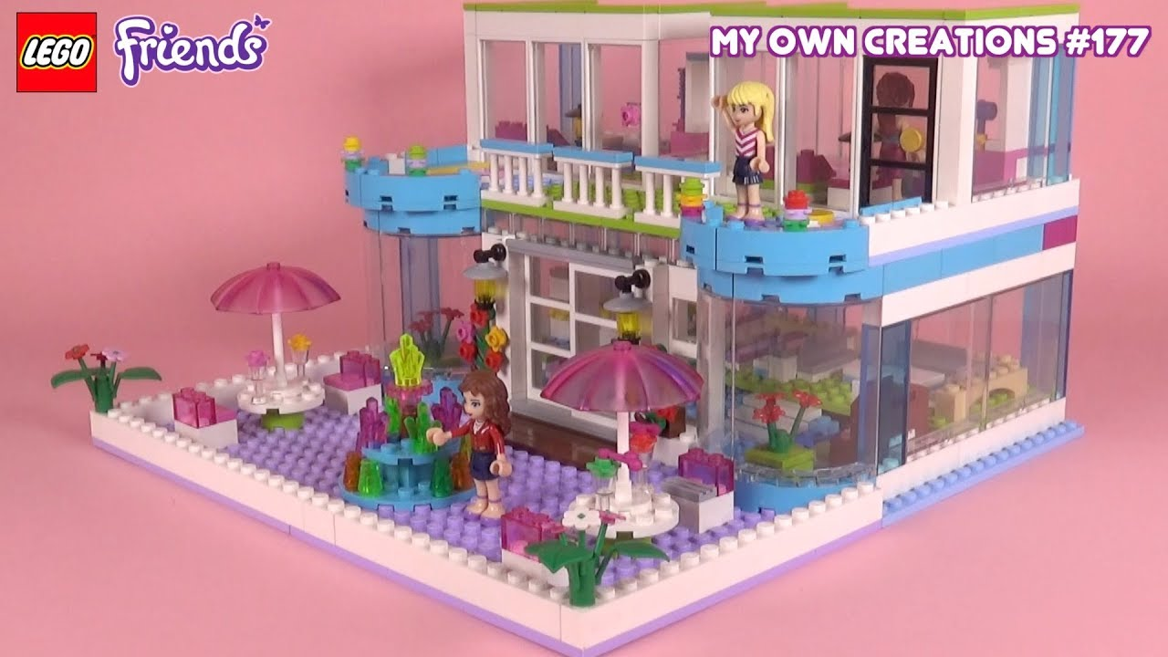 Hotel 001 Lego Friends My Own Creations 177 Youtube