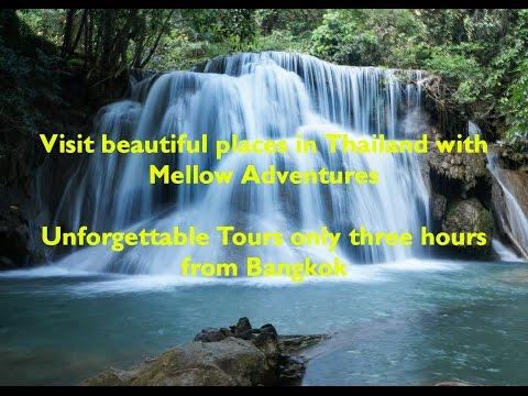 On tour with Mellow Adventures Kanchanaburi