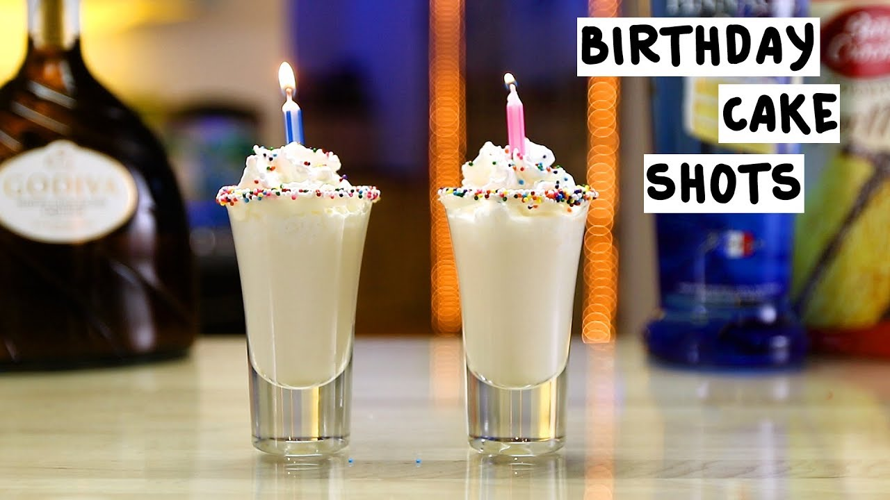 Birthday Cake Shots Recipe How To Make It Taste Of Home