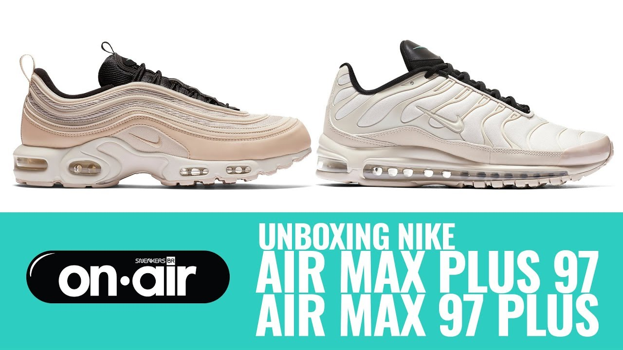SBROnAIR Vol. 85 Unboxing Nike Air Max 97 Plus + Air Max Plus 97 #piranomeuair