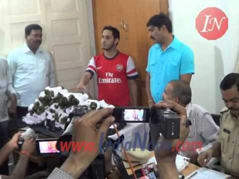 Stimulant Drug Khat Leaves smugglers Yemen Nationals arrested by Hyderabad  Police