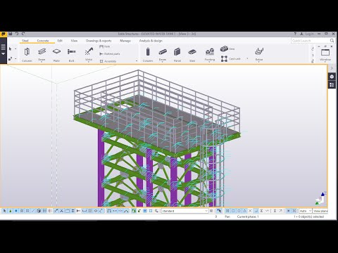 Cage Ladder and Handrails Placement in Tekla STRUCTURES 2016