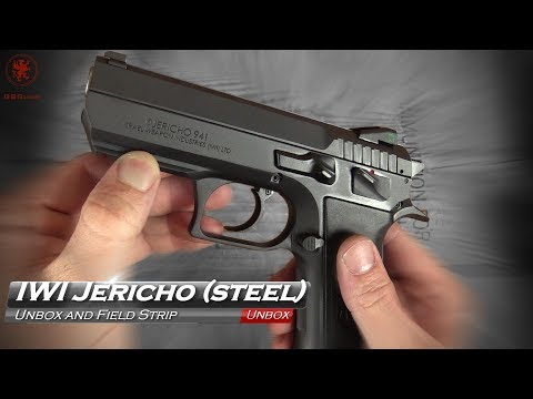 IWI Jericho 941 Steel Unbox and Field Strip
