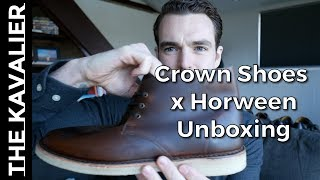 Crown Shoes Horween Chromexcel Handmade Chukkas Unboxing