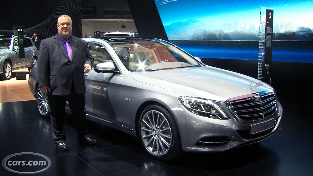 2015 Mercedes-Benz S600 -- 2014 Detroit Auto Show - YouTube on