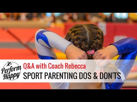 Sport Parenting DO's & DON'T's | Q&A with Coach Rebecca