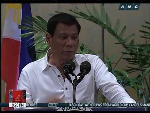 US aid eyed despite Duterte tough talk