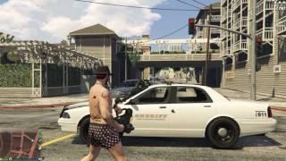 Grand Theft Auto V Ep.182 Minigun Special