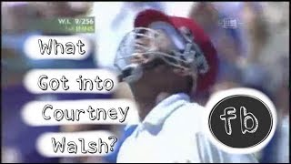 What got into Courtney Walsh??