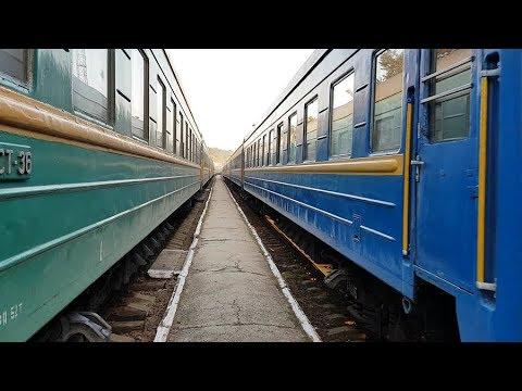 trenurile Chisinau-Bucuresti / Moscova-Chisinau, statia Calarasi (r.Moldova), 2017