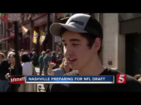 NFL Draft coming to Nashville