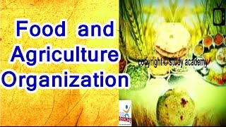 Food and Agriculture Organization