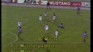 Borussia Mönchengladbach - Real Madrid 1985 5:1 alle Tore