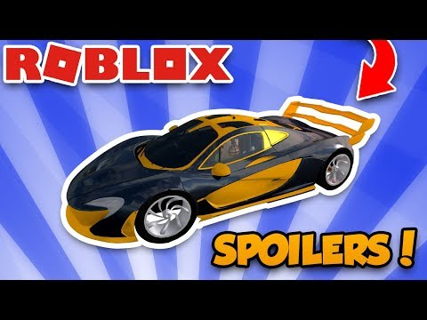 UPGRADING MCLAREN P1 WITH BEST $100,000 SPOILER! ROBLOX VEHICLE SIMULATOR SPOILERS UPDATE