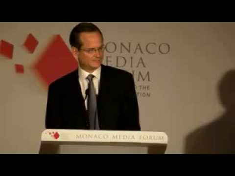 Lawrence Lessig receives Monaco Media Award