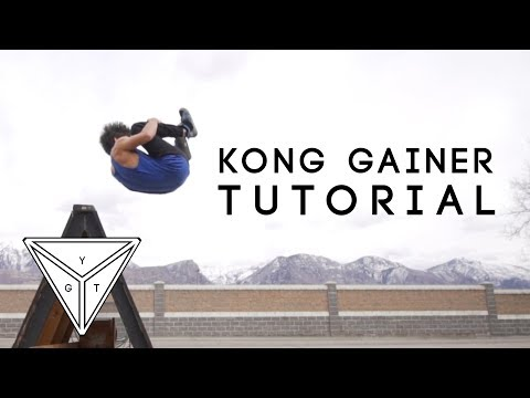 How to KONG GAINER by Calen Chan | YGT Freerunning