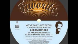 Lee Mcdonald - We