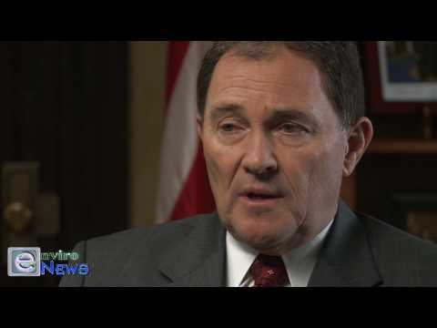 "Governor Gary Herbert Discuss a ""Carrot and Stick Approach"" for Cleaner Air"